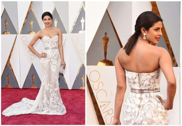 Get influenced by Priyanka's Oscar style