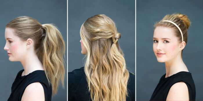 5 Pretty Date Night Hairstyles