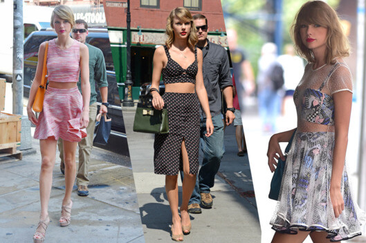 How to dress like Taylor Swift without being cliché?
