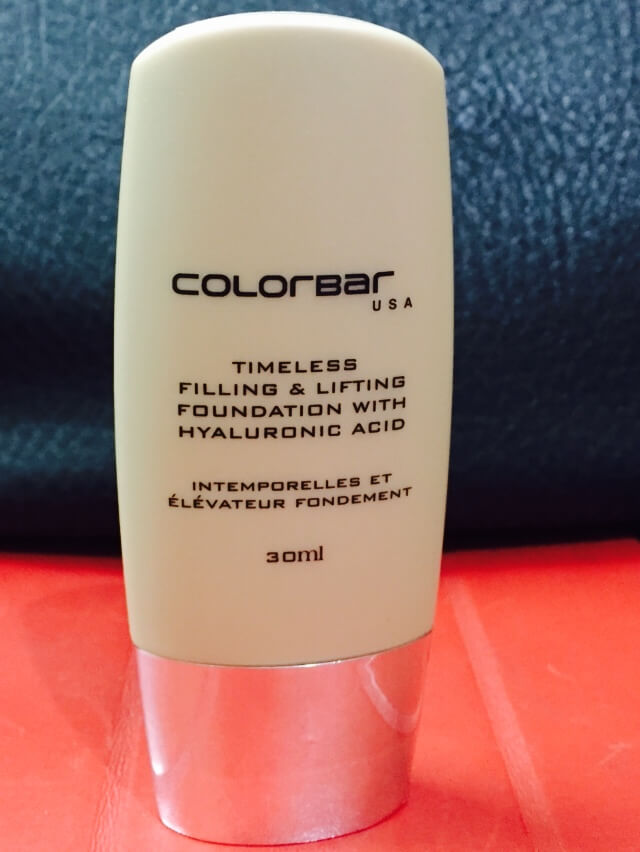 Colorbar Timeless Filling And Lifting Foundation Review