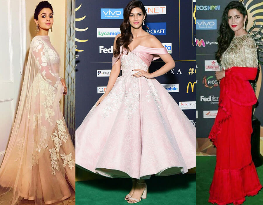 Top 11 Best Dressed Women of IIFA 2017 Standing in Order