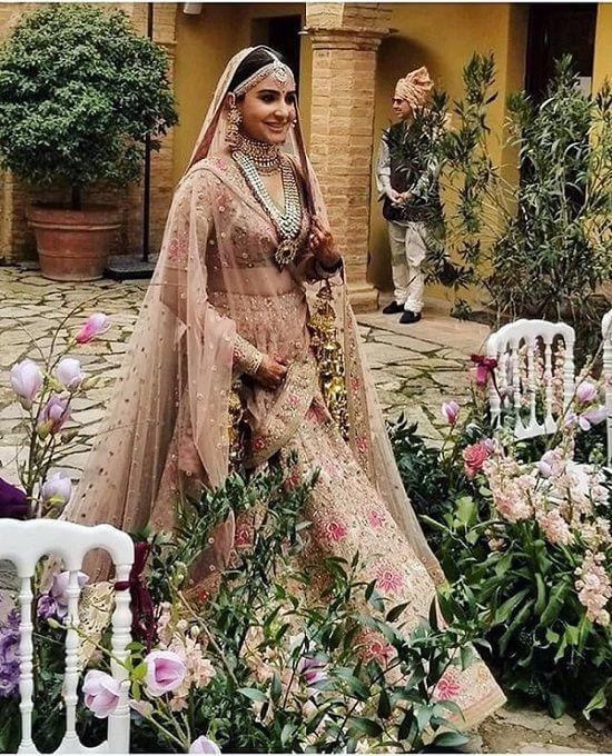 Anushka on her Wedding Day